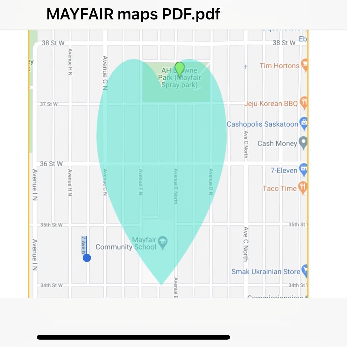 Sum Theatre in Mayfair map