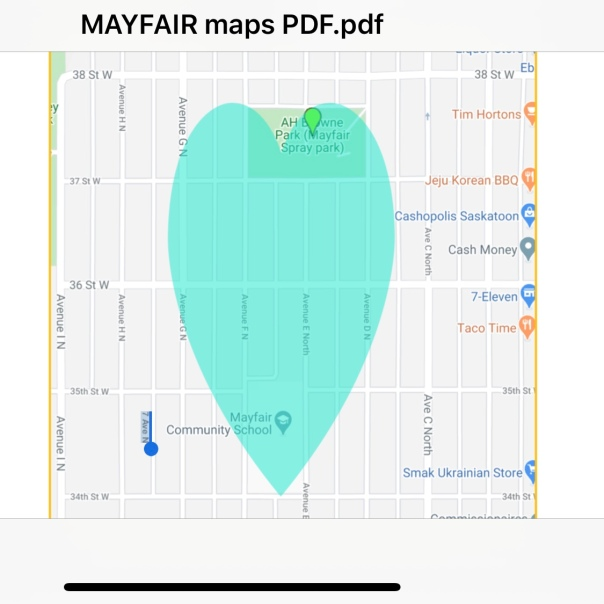 Sum Theatre in Mayfair map